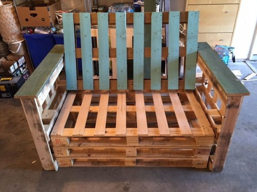 Beautiful Furniture Ideas With Pallet For You 26