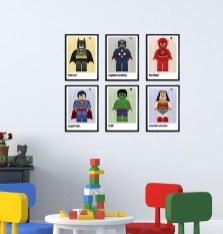 Best Memorable Childrens Bedroom Ideas With Superhero Posters 05