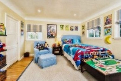Best Memorable Childrens Bedroom Ideas With Superhero Posters 09