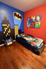 Best Memorable Childrens Bedroom Ideas With Superhero Posters 19