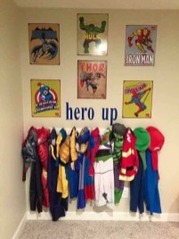 Best Memorable Childrens Bedroom Ideas With Superhero Posters 21