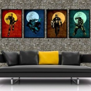 Best Memorable Childrens Bedroom Ideas With Superhero Posters 26