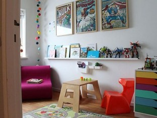 Best Memorable Childrens Bedroom Ideas With Superhero Posters 29
