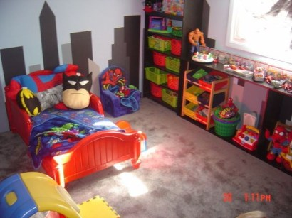 Best Memorable Childrens Bedroom Ideas With Superhero Posters 32
