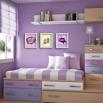 Best Memorable Childrens Bedroom Ideas With Superhero Posters 39