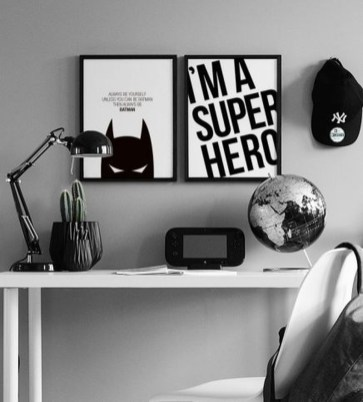 Best Memorable Childrens Bedroom Ideas With Superhero Posters 46