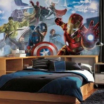 Best Memorable Childrens Bedroom Ideas With Superhero Posters 47
