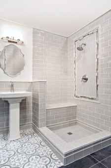 Brilliant Bathroom Tile Design Ideas That Very Inspiring 21