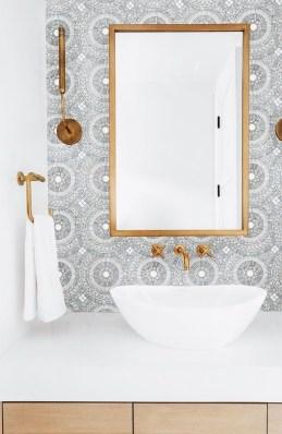 Brilliant Bathroom Tile Design Ideas That Very Inspiring 27