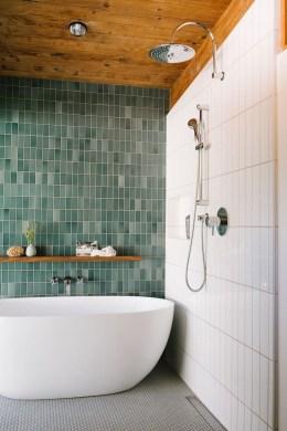 Brilliant Bathroom Tile Design Ideas That Very Inspiring 34