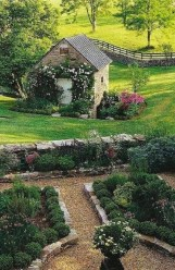 Brilliant French Country Garden Décor Ideas03