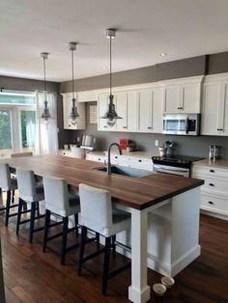 Casual Diy Farmhouse Kitchen Decor Ideas To Apply Asap 48