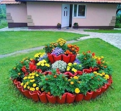 Comfy Garden Decorations Ideas To Apply43
