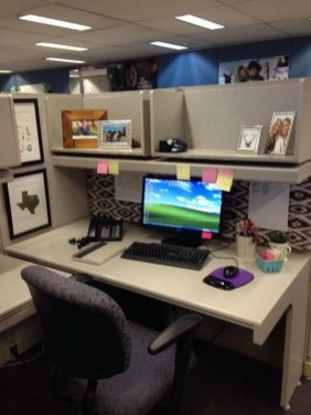 Creative Diy Cubicle Decor Ideas For Working Space 09
