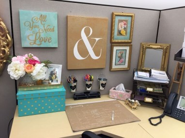 Creative Diy Cubicle Decor Ideas For Working Space 32