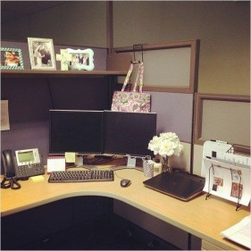 Creative Diy Cubicle Decor Ideas For Working Space 44
