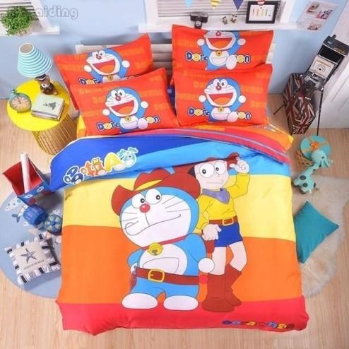 Impressive Kids Bedroom Ideas With Doraemon Themes11