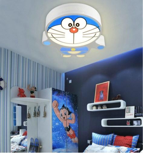 Impressive Kids Bedroom Ideas With Doraemon Themes15