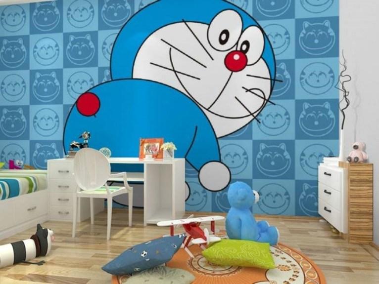 Impressive Kids Bedroom Ideas With Doraemon Themes21
