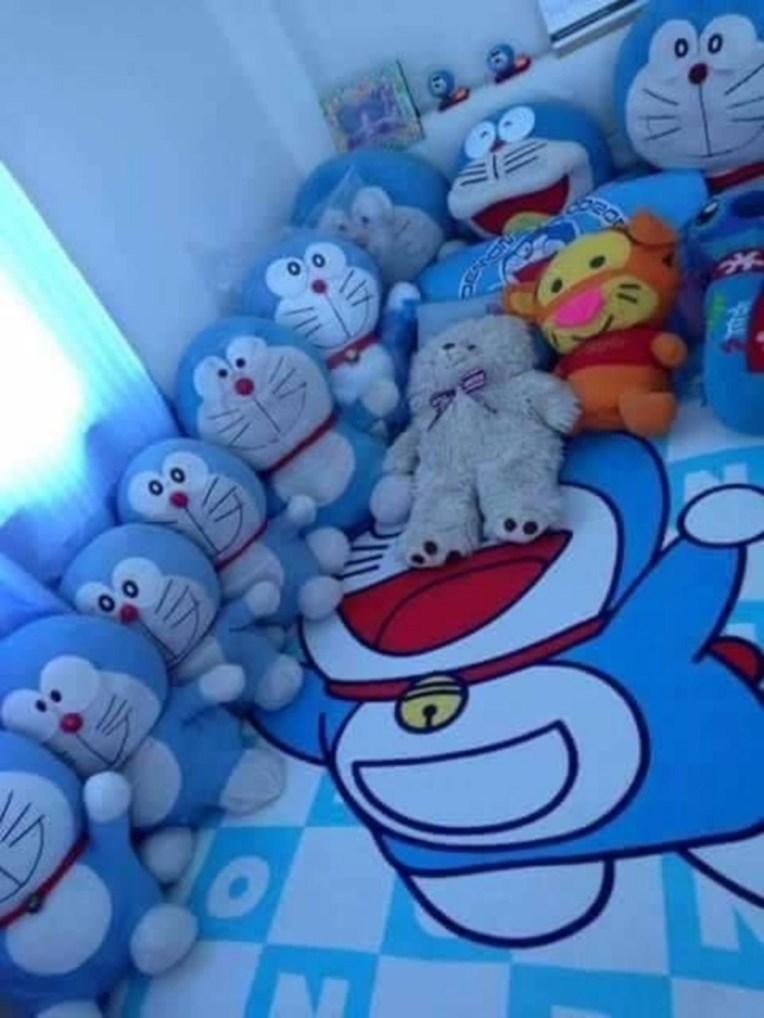 Impressive Kids Bedroom Ideas With Doraemon Themes29
