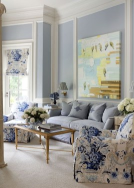 Inspiring Living Room Ideas With Beachy And Coastal Style36