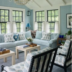 Inspiring Living Room Ideas With Beachy And Coastal Style41