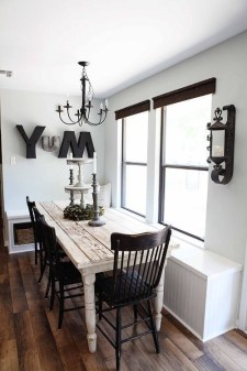 Interesting Dinning Table Design Ideas For Small Room06
