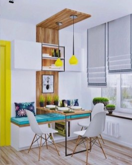 Interesting Dinning Table Design Ideas For Small Room29