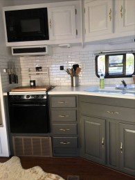 Lovely Rv Cabinet Makeover Ideas01