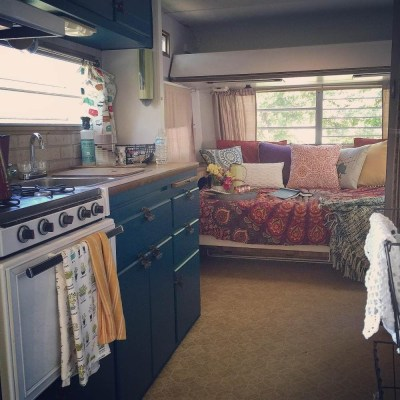 Lovely Rv Cabinet Makeover Ideas20
