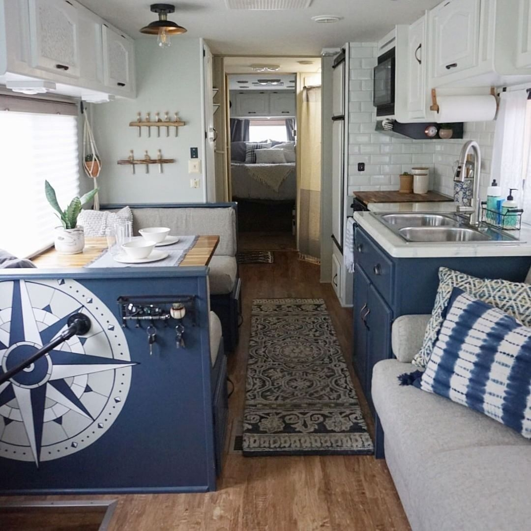 Lovely Rv Cabinet Makeover Ideas40