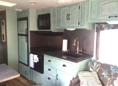 Lovely Rv Cabinet Makeover Ideas43