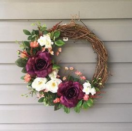Pretty Hang Wreath Ideas In Door For Summer Time 03