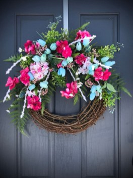 Pretty Hang Wreath Ideas In Door For Summer Time 15