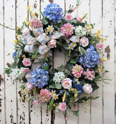 Pretty Hang Wreath Ideas In Door For Summer Time 30