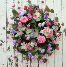 Pretty Hang Wreath Ideas In Door For Summer Time 44