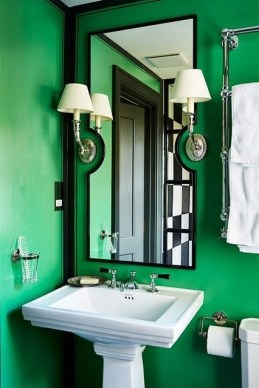 Relaxing Bathroom Design Ideas With Go Green Concept35