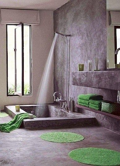 Relaxing Bathroom Design Ideas With Go Green Concept39