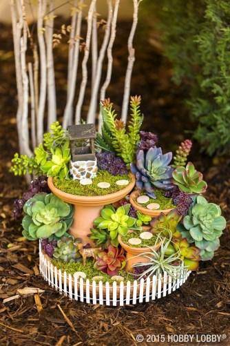 Stytlish Miniature Fairy Garden Ideas21