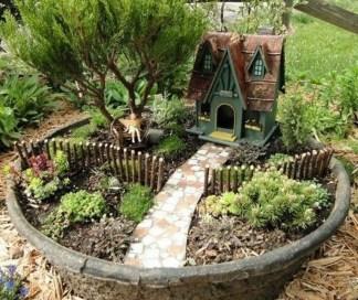 Stytlish Miniature Fairy Garden Ideas25