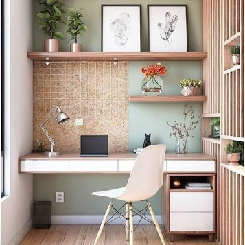 Unusual Home Office Decoration Ideas For You 24