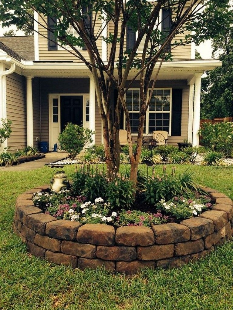 Amazing Front Yard Landscaping Ideas With Low Maintenance To Try44