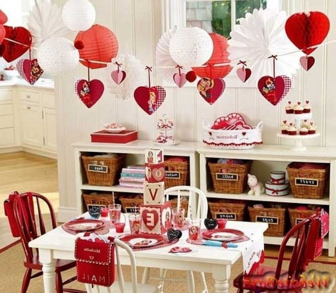 Beautiful Home Interior Design Ideas With The Concept Of Valentines Day18