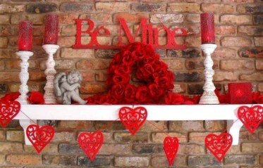 Beautiful Home Interior Design Ideas With The Concept Of Valentines Day32