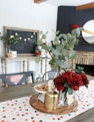 Beautiful Home Interior Design Ideas With The Concept Of Valentines Day35
