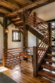 Classy Indoor Home Stairs Design Ideas For Home06