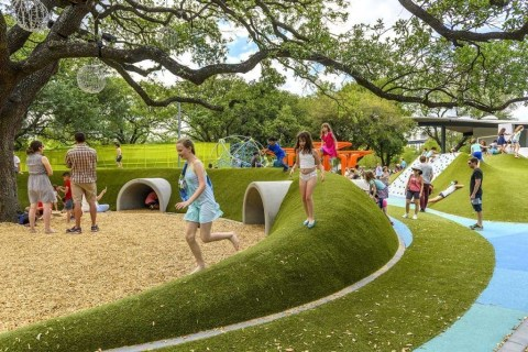Cool Childrens Playground Design Ideas For Home Garden24