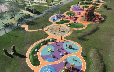 Cool Childrens Playground Design Ideas For Home Garden25