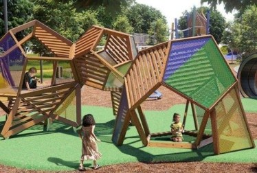 Cool Childrens Playground Design Ideas For Home Garden28