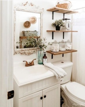 Cute Small Bathroom Decor Ideas On A Budget To Try07